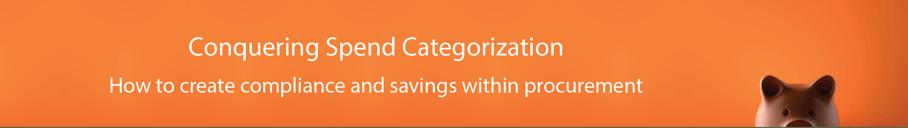 Spend Categorization Header